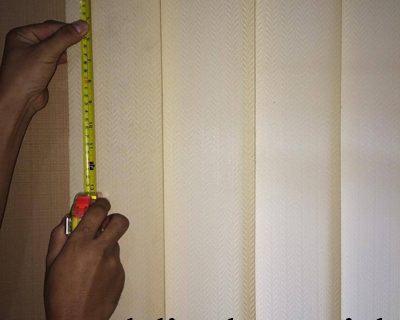 Cara menghitung harga vertical blinds fabric only
