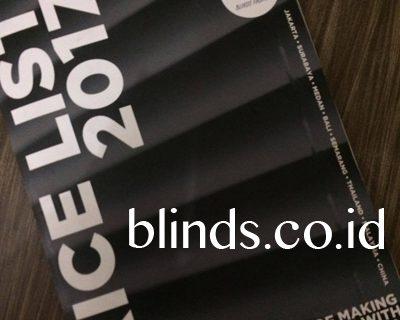 Harga Vertical Blinds Sharp Point 2017