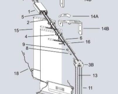 Komponen Vertical Blinds : Heavy duty & Standard System