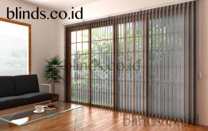 vertical blinds sharp point sp 8007-6 grey