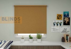 Roller blinds sharp point SP.260-11 LIGHT BROWN copy