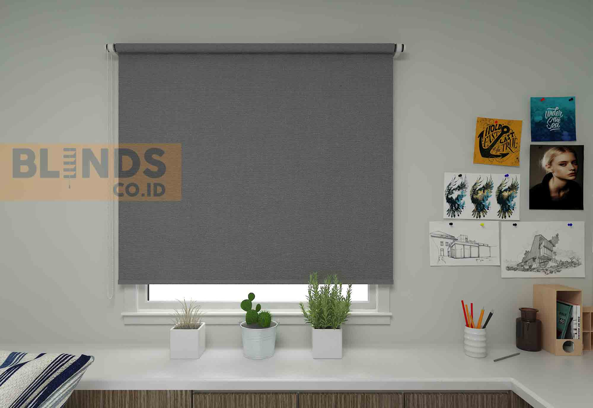 roller blinds sharp point SP.2600-12 GREY + GREY copy