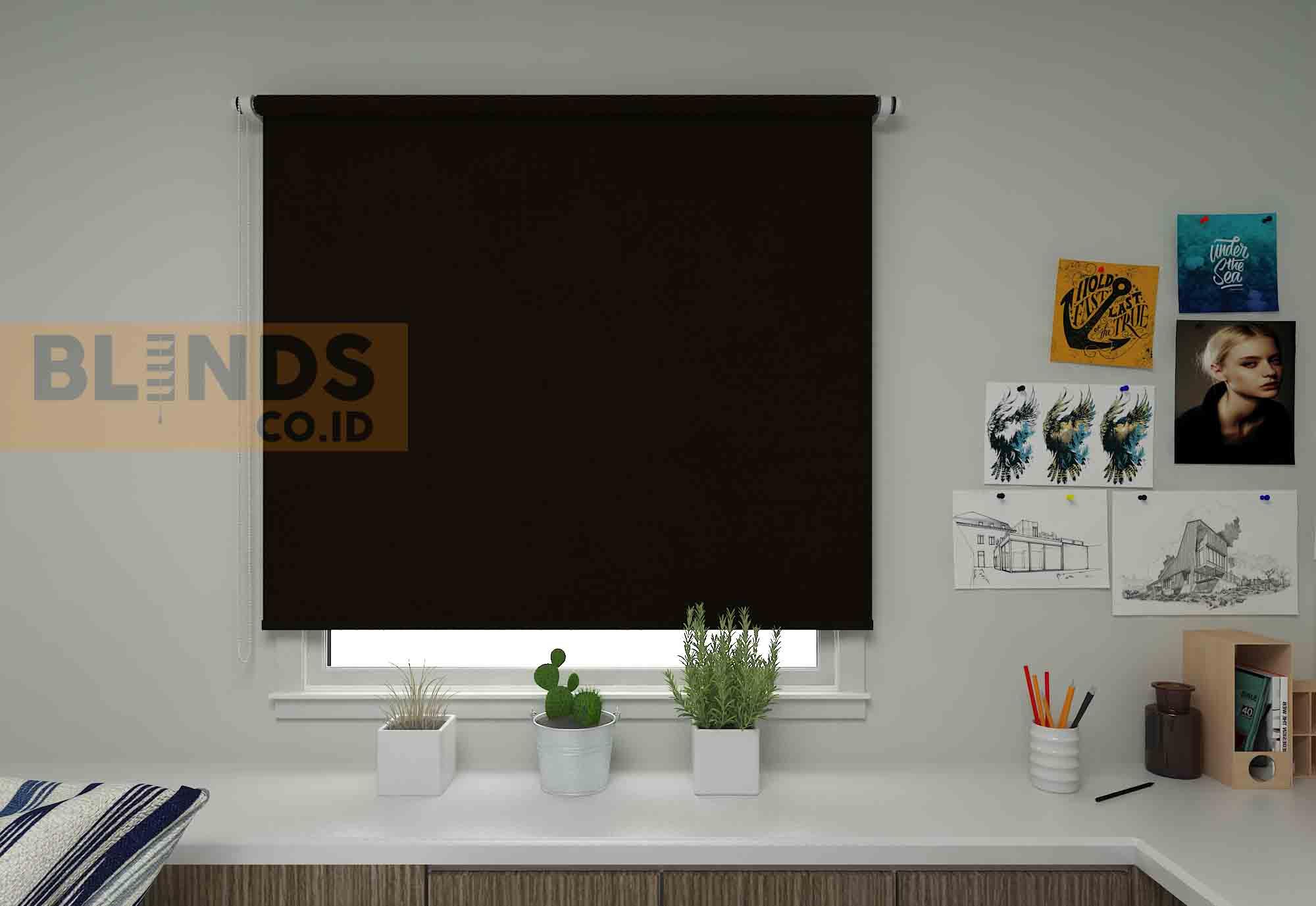 roller blinds sharp point SP.4000-6 BRONZE copy