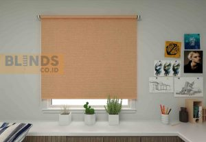roller blinds sharp point SP.500-9 ORANGE + WHITE copy