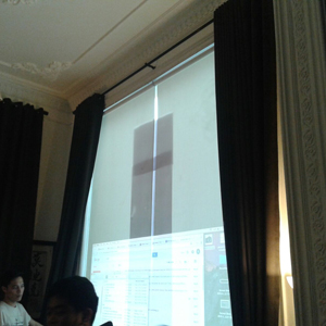 layar projector roller blinds