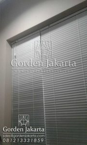 Slimline Blinds Merk Onna Series 148 Putih