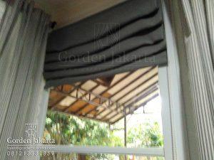 jual roman shades custom di blinds.co.id