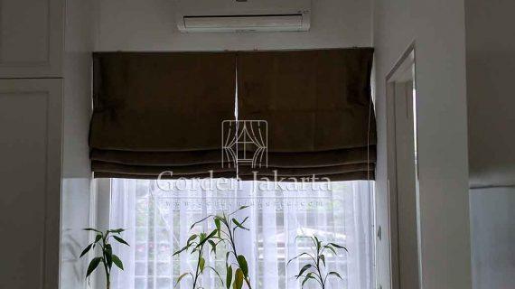 Roman Shades Semi Blackout Untuk Ruangan Yang Lebih Cantik