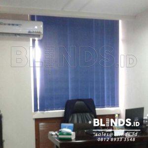 Jual Vertical Blind Blackout Onna Blue Series 3105 Q3587
