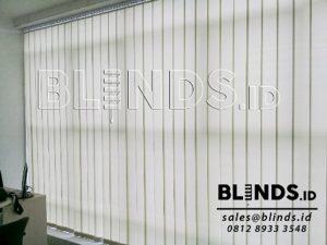 harga vertical blind kantor sharp point di blinds dot co dot id
