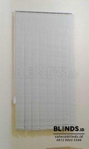 Contoh Vertical Blinds Dimout Sp. 8007-6 Grey Di Tebet Q3677