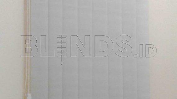 Contoh Vertical Blinds Dimout Warna Grey Di Tebet