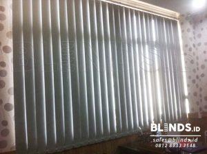 Jual Vertical Blinds Blackout Di Tanjung Priok Sp. 6046-5 Grey Q3660