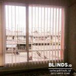Gambar Vertical Blinds Dimout Warna Orange Milik Klien Di Depok