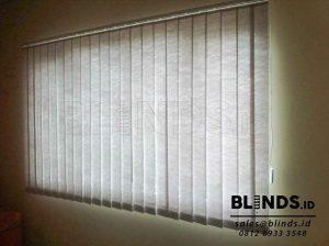 tirai vertical blinds semi blackout Sp. 8370 - 6 Grey di Bekasi Q3669