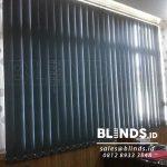 Produksi Vertical Blinds Blackout Warna Grey Di Tanjung Priok