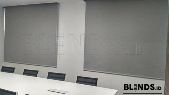 Contoh Roller Blinds Blackout Superior Di Sudirman