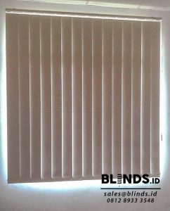 Harga Vertical Blinds Blackout Sharp Point Sp.6045-10 white Q3735