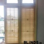 Venetian Blinds Cream Deluxe Slatting Project Di Ciledug