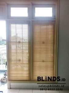 Venetian Blinds Cream Deluxe Slatting 25 mm Sp. 068 Q3698