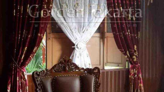 Gorden Klasik Pun Bisa Pesan Custom