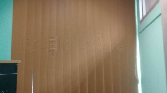 Tirai Vertical Blinds Blackout Di Kirim Ke Bekasi