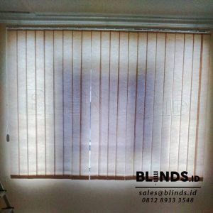 Vertical Blinds Semi Blackout sp.8370-3 Grey Sharp Point Q3701