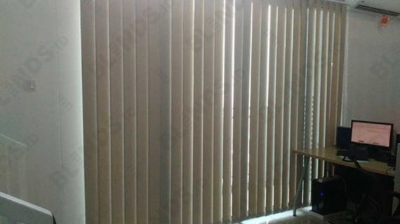 Bahan Dimout Vertical Blinds Seri 505 Jakarta Barat
