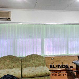 Tirai Vertical Bahan Dimout Sp. 8001-5 Green Di Cempaka Putih Q3813