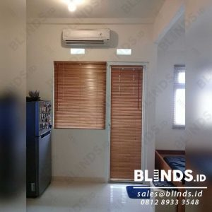 Wooden Blinds Tropical Hard Wood Sp.03 Light Natural 27 mm Q3924