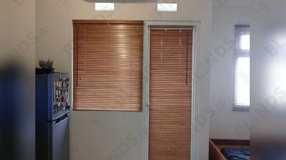 Contoh Wooden Blinds Sp. 03 Di Apt Green Pramuka