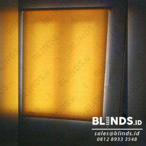 harga roller blinds semi blackout Sp.5444-1 cream pasang di cikini Q3916