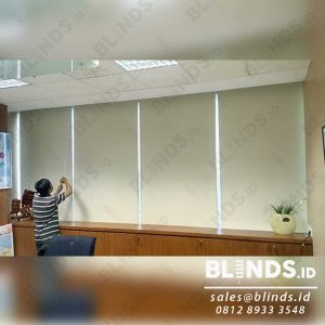 roller blinds blackout superior Sp 6077-2 Coconut di Menara Prima Q3920
