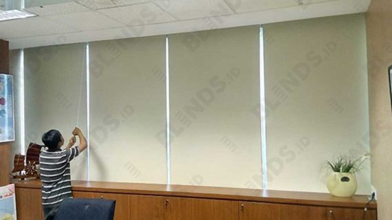 Roller Blinds Blackout Superior Project Di Menara Prima
