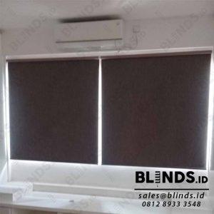 Blackout Roller Blinds Super Quality Sp.6027-30 SQ Brown di BSD Q3859