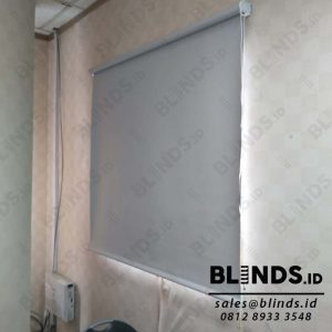 Jual Roller Blinds Blackout Superior Sp.6045 - 3 Grey di Mampang Q3880