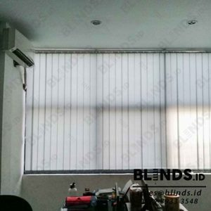 vertical blinds dimout warna grey Sp.8007 -6 Q3943