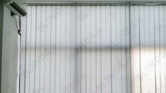 Vertical Blinds Dimout Grey Series 80 Di Ciledug
