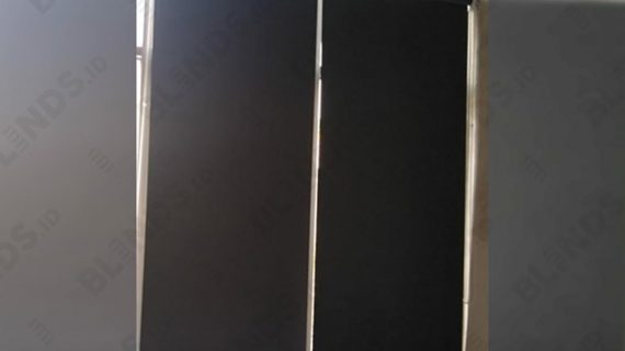 Contoh Roller Blinds Blackout Superior Hitam Di Woltermonginsidi