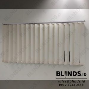 Vertical Blinds Dimout Sp.8370-2 Cream di Pangeran Jayakarta id4060