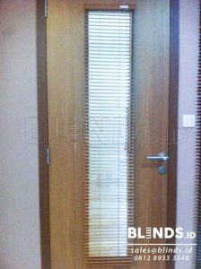 jual wooden blinds shinichi one adjusted 25mm Q3535