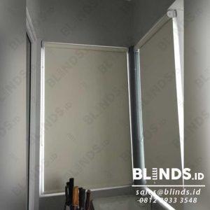 roller blinds blackout superior sp.6077-2 coconut pasang di Kota Wisata Cibubur id4076