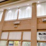 Vertical Blinds Off White Dimout PT KAI Juanda Jakarta Pusat