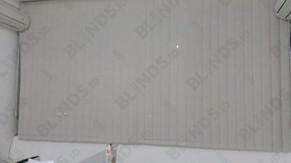 Vertical Blinds Solar Screen Onna Pasang Di Ruko Harmoni Jembatan Dua