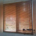 Venetian Blinds Seri Wood Motive Di Trihasco Cipete Selatan