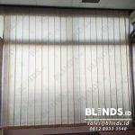 Bahan Dimout Vertical Blinds Pasang Di Kementerian Pertahanan JakPus