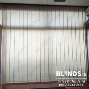 bahan dimout vertical blinds 127mm sp.8001-7 peach sharp point id4086