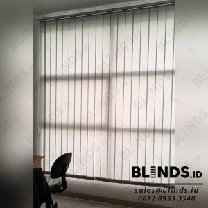 harga vertical blinds dimout 127mm Sp.8003- 6 Grey di Serpong id4113