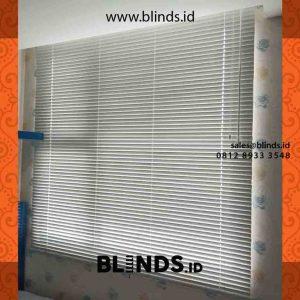 contoh venetian blinds aluminium deluxe slatting di warung buncit id4252