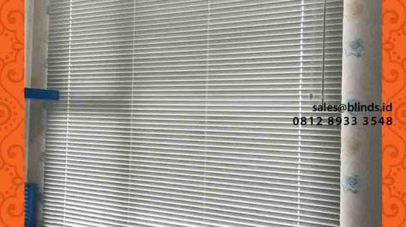 Contoh Venetian Blinds Aluminium Apartment Royal Olive Buncit